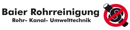 Baier Rohrreinigung Logo